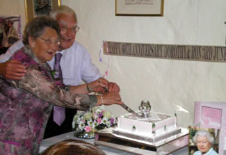 Ron and Dorothy's 60th Wedding Anniversary